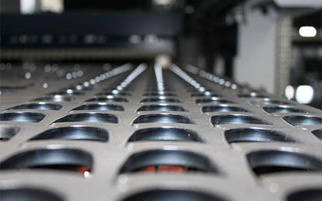 Metallbearbeitung mittels Laserschneiden